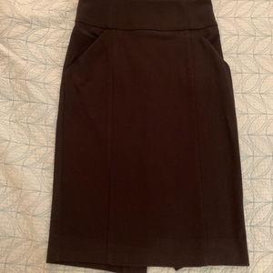 Small Black Pencil Skirt